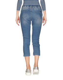 Джинсовые брюки-капри Blue les Copains 42551637UJ