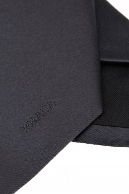 Шелковый галстук Prada 4051459
