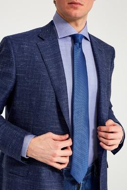 Синий галстук из шелка Brioni 167071962