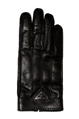 Кожаные перчатки Prada 4071299