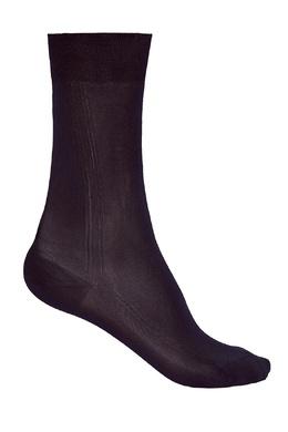 Черные шелковые носки Brioni 167071941