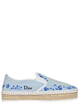 Эспадрильи Christian Dior 76104