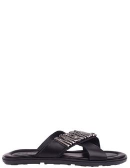 Шлепанцы Moschino 57366