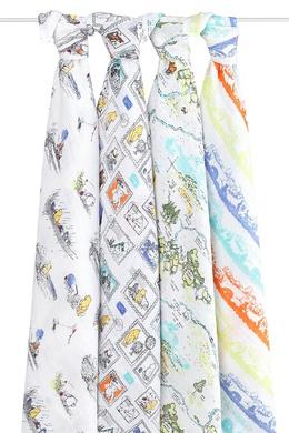 Комплект пеленок с ярким принтом Aden+Anais 213390912