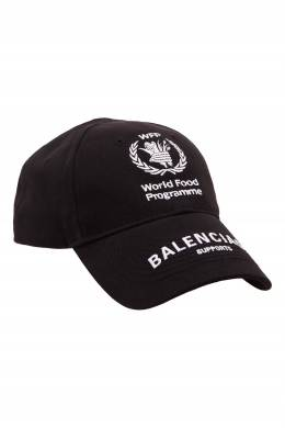 Черная кепка World Food Programme Balenciaga 39798398