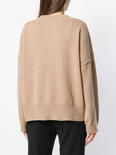 Federica Tosi cut-detail flared sweater FTI18MK092 - 4