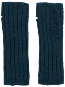 Holland&Holland Cashmere Knitted Mittens LU5812L00002