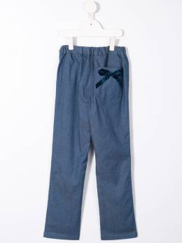 Familiar - bow-detail trousers 03693969399000000000
