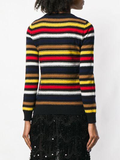 Sonia Rykiel свитер в полоску 11550903VD - 4