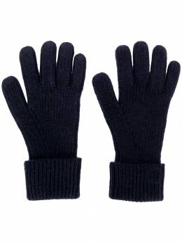 N.peal ribbed knitted gloves NPA480B