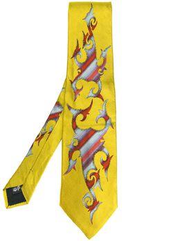 Jean Paul Gaultier Pre-Owned галстук 'Tribal Illustration' JPG1736