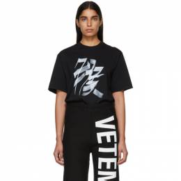 Vetements Black Monkey Chinese Zodiac T-Shirt USS197051