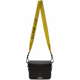 Off-White Black Binder Clip Flap Bag OWNA011E184230511000