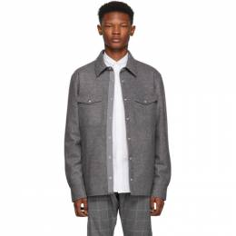 Moncler Grey Rigel Shirt Jacket 41323 80 80990
