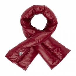 Moncler Red Down Scarf D2093001070068950