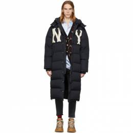 Gucci Black NY Yankees Edition Down Puffer Coat 532960 z756c