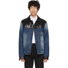 Moncler Genius 7 Moncler Fragment Hiroshi Fujiwara Navy Shady Down Denim Jacket 40311 30 549XB