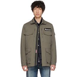 Moncler Genius 7 Moncler Fragment Hiroshi Fujiwara Khaki Down Jacket 41701 00 549XW