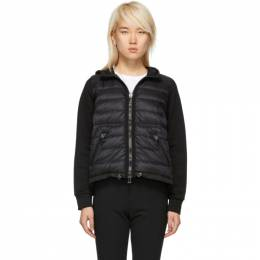 Moncler Black Down Hooded Jacket D20938496000809BE