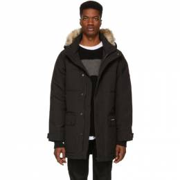 Canada Goose Black Down Emory Parka 2580M