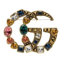 Gucci Gold Marmont Brooch YBF51514900100U