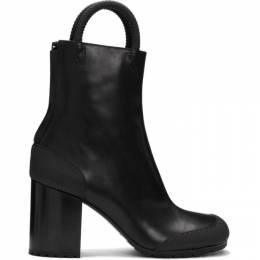 Random Identities Black Worker Boots B01