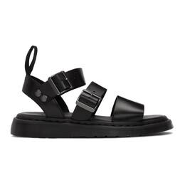 Dr. Martens Black Gryphon Sandals R15695001