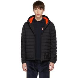 Moncler Black Down Dreux Jacket 40376 99 53333