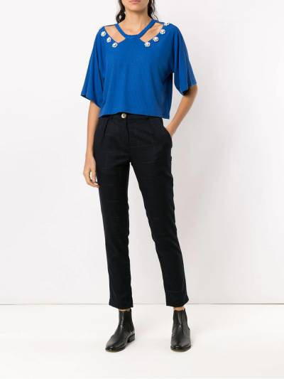 Olympiah Copa cropped top 218221C - 2
