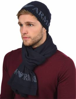 Шапка и шарф Emporio Armani 101528