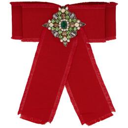 Gucci Red Ribbon Brooch YBF46082800100U