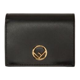 Fendi Black F is Fendi Bifold Wallet 8M0387 A0KK