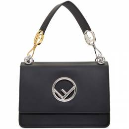 Fendi Black Large F is Fendi Kan I Bag 8BT284 2IH