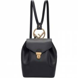 Fendi Black F is Fendi Backpack 8BZ043 A18B