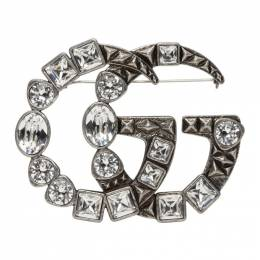 Gucci Silver Marmont Brooch 515149 J1D50