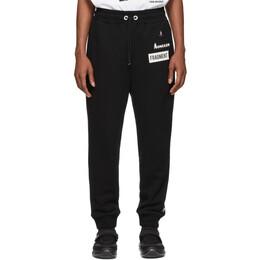 Moncler Genius 7 Moncler Fragment Hiroshi Fujiwara Black Logo Casual Lounge Pants 87104 00 809CB