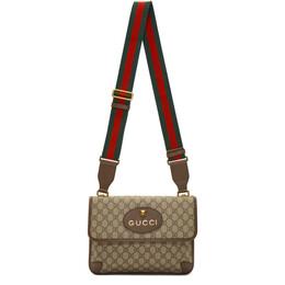 Gucci Beige Neo Vintage Foldover Bag 495654 9C2VT