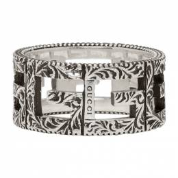 Gucci Silver Square G Ring 551918 J8400