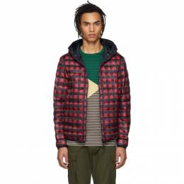 Moncler Reversible Navy and Red Down Oise Jacket 41404 05 539HL 41404 05 539HL