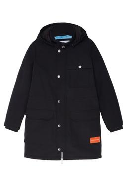 Черная куртка с карманами Calvin Klein Kids 2815109032