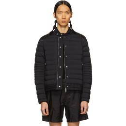 Moncler Black Down Barral Puffer Jacket 40358 95 C0007
