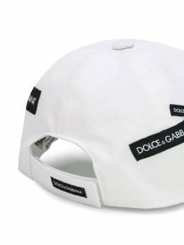 Dolce & Gabbana Kids - кепка с нашивкой-логотипом H59G3RSC939683330000
