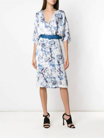 Tufi Duek midi printed dress 444803609 - 2