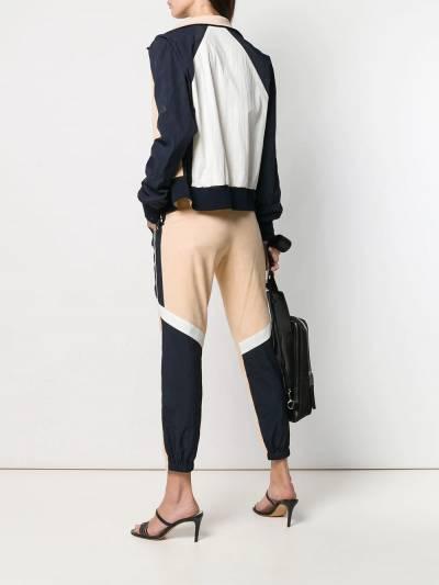 Army Yves Salomon двухцветные спортивные брюки 9EFP047XXN60W - 2