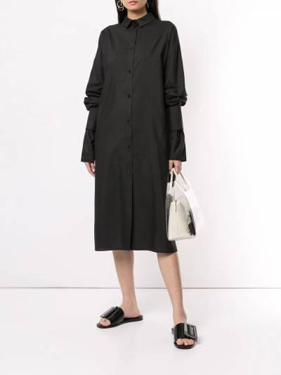 Boyarovskaya платье-рубашка оверсайз SHRTSS19PRSNGTR - 2