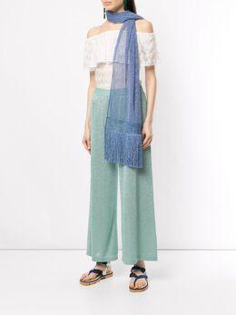 Missoni шарф с бахромой MDS00131BR0011