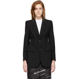 Balenciaga Black Hourglass Jacket 503722-TYI20-1000