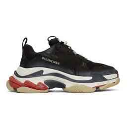 Balenciaga Black Triple S Sneakers 533882 W09O1
