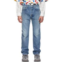 Balenciaga Blue Standard Fit Jeans 557041-TXE05