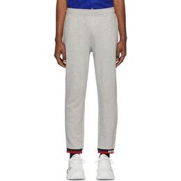 Moncler Grey Striped Lounge Pants 87046 00 V8020